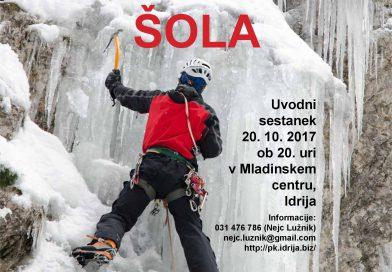 Alpinistična šola 2017/18
